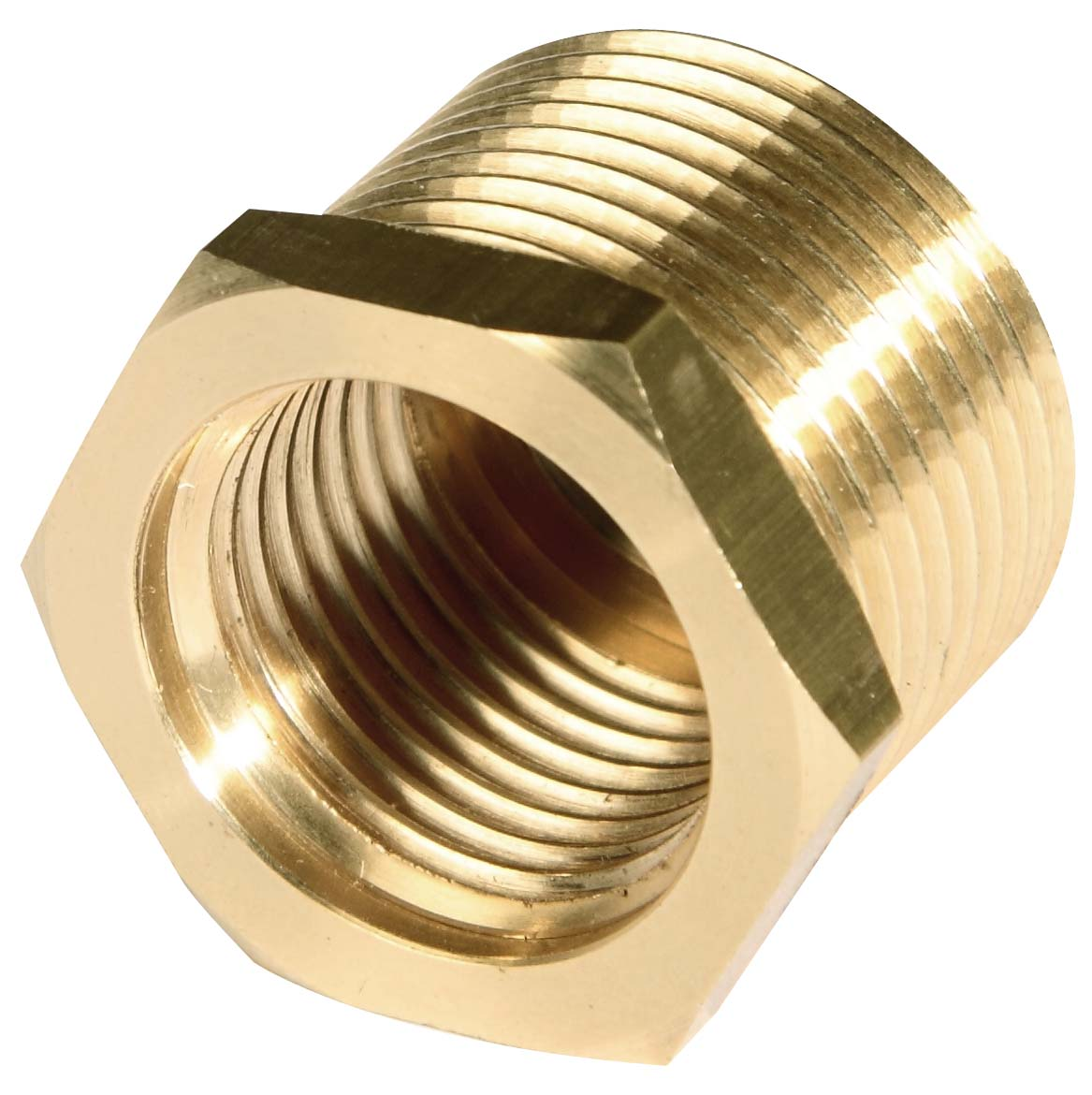 Brass nipple fittings with thread