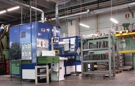 l'Impianto di lavaggio della torneria meccanica Gabrieli a Vestone