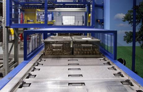 Impianto di lavaggio dei pezzi metallici ad alcool modificato