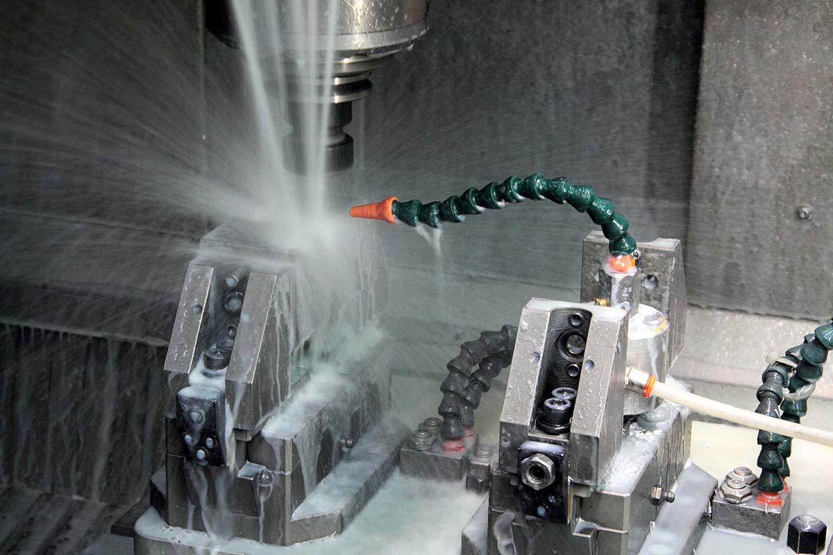 Mega Machining on mechanical work center