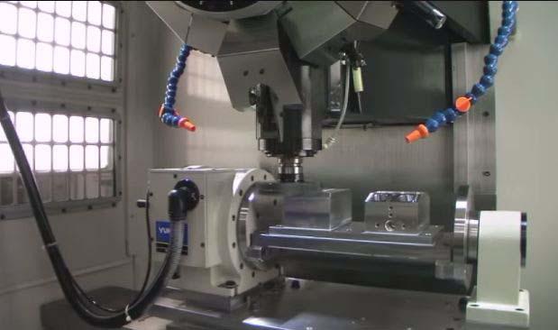 Mechanische Fertigungen auf Bearbeitungszentren