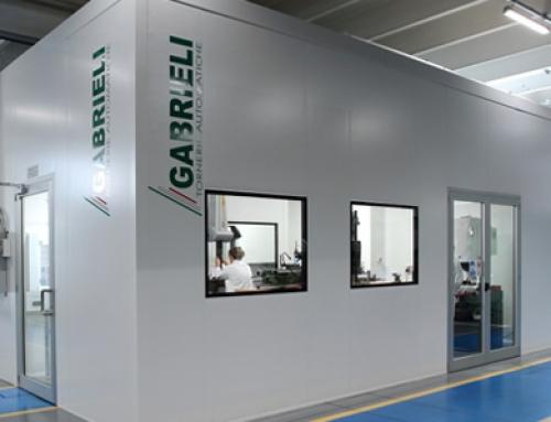 Nuova sala metrologica e camera bianca