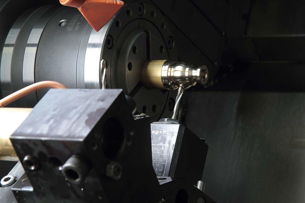 Gabrieli precision turned parts on automatic lathes in Vestone, Brescia in Italy